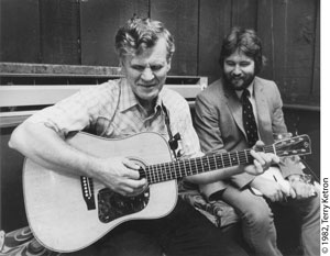 Doc Watson and Tim Bullard, 1982