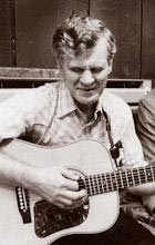Photo of Doc Watson taken in 1982 by Terry Ketron.